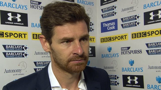 Tottenham coach Andre Villas-Boas