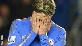 Chelsea striker Fernando Torres