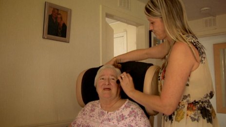 Elaine McMath Patrick says her mother now needs a full-time carer