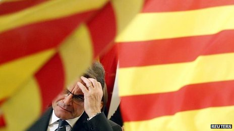 CiU leader Artur Mas (25 Nov)