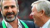 Eric Cantona, Sir Alex Ferguson