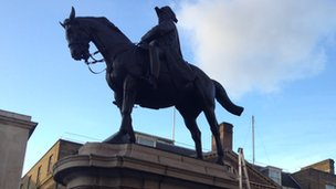 Duke of Cambridge statue