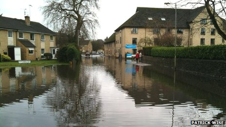 Spitalgate Lane in Cirencester