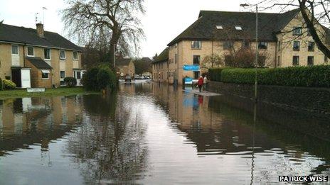 Spitalgate Lane in Cirencester