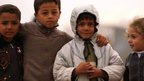 Despair of refugees in Syria's Atma camp
