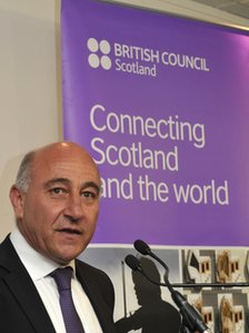 Lloyd Anderson, director of British Council Scotland