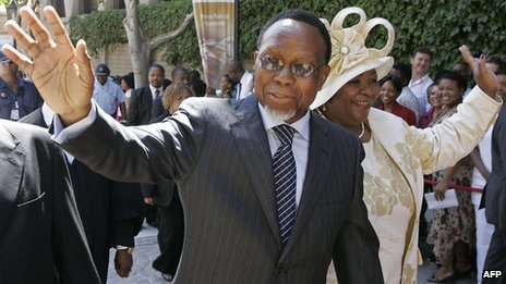 South Africa&#039;s Deputy President Kgalema Motlanthe in Cape Town (6 February 2009)