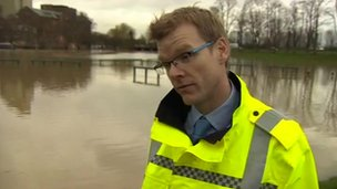 Norman Robinson, of the Environment Agency