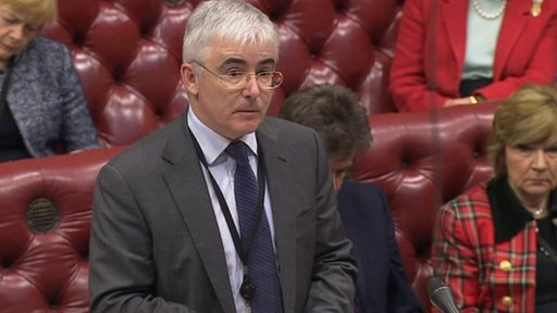 Welfare Reform Minister Lord Freud
