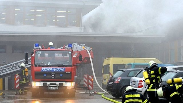 Fire in Titisee-Neustadt, 26 Nov 12