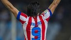 Atletico Madrid striker Radamel Falcao