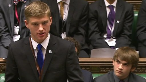 Members of the Youth Parliament