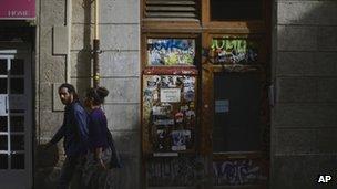 A Barcelona street