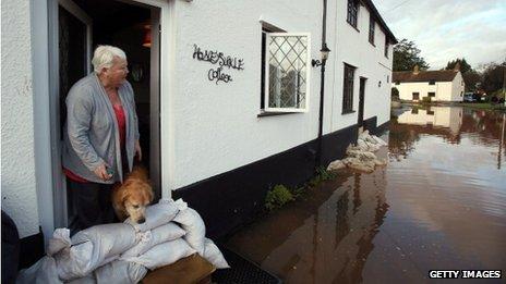 Floods, UK
