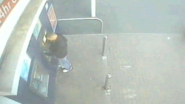 Rotaru at an ATM