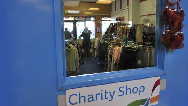 A charity shop