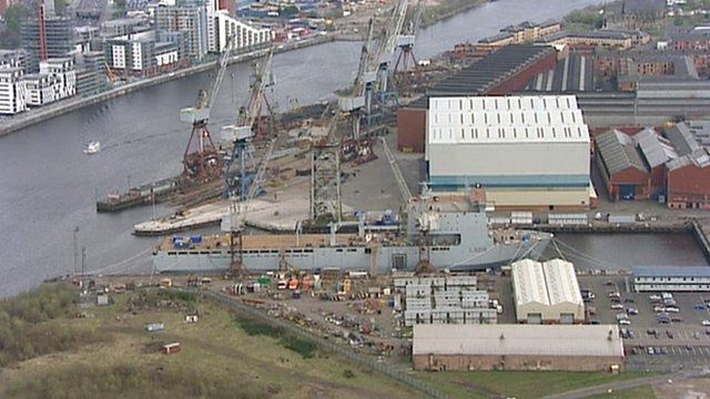 Shipyard in Govan