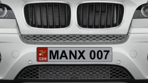 MANX Number plates