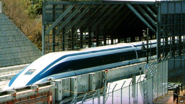 Maglev Train in Japan
