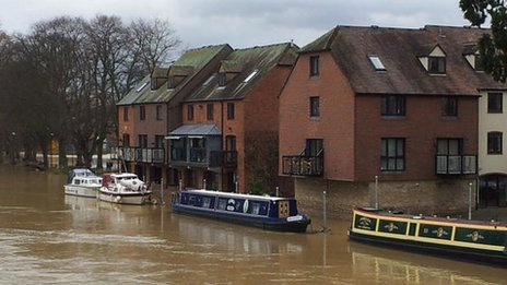 Flats in Evesham designed to resist flooding
