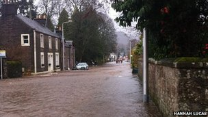 Comrie flooding
