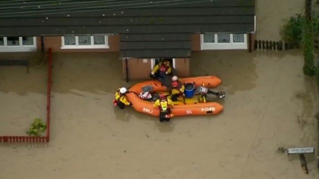 RNLI rescue a resident in St Asaph