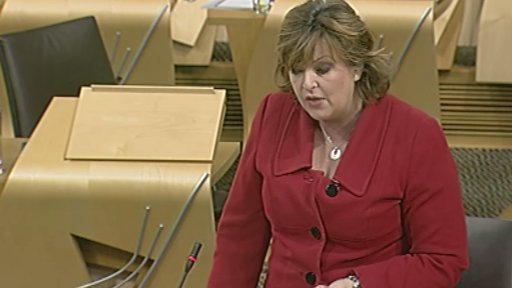 Culture Secretary Fiona Hyslop