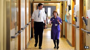 Jeremy Hunt Kings College Hospital visit 2012