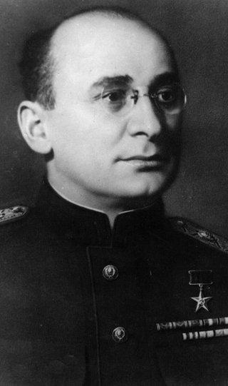 Lavrentii Beria, head of the feared NKVD