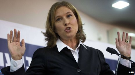 Tzipi Livni in November 2012