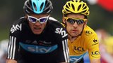 Chris Froome (left) and Bradley Wiggins