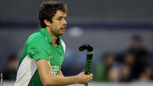 John Jermyn scored Ireland's third goal against South Africa