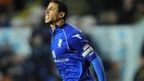 Curtis Davies heads in for Birmingham