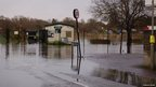 Flooding on Cow Mead Allotments, Abingdon Road, Oxford