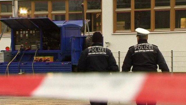 Police at workshop