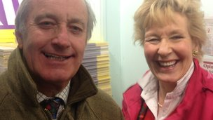 Neil and Christine Hamilton in Rotherham