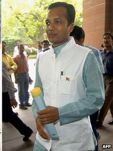Naveen Jindal, managing director of the Jindal Group and a politician with the governing Congress party