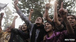 Garment workers protest in Dhaka 27 Nov 2012