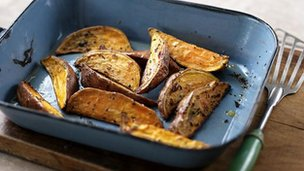Sweet potatoes: BBC Food