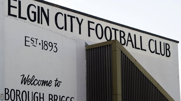 Elgin City's Borough Briggs