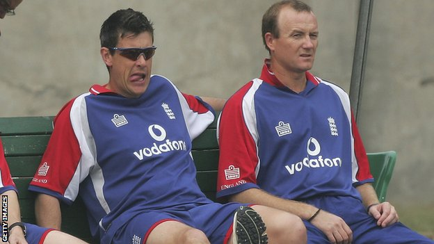Ashley Giles and Shaun Udal