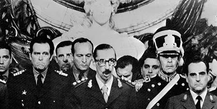 General Jorge Videla at his swearing-in