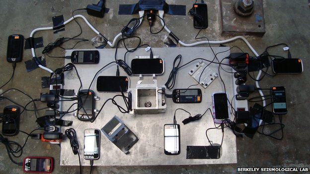 Smartphones to be pocket seismometers