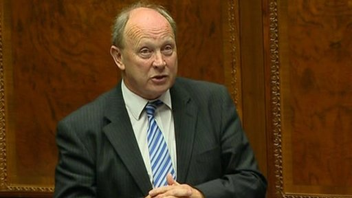 The TUV's Jim Allister