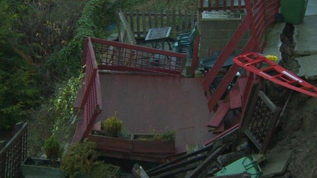 Collapsed garden