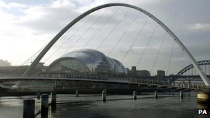 The Sage concert hall in Gateshead