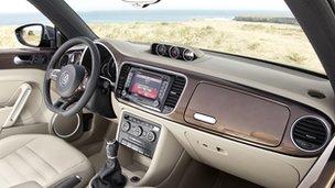 Volkswagen Beetle convertible interiors