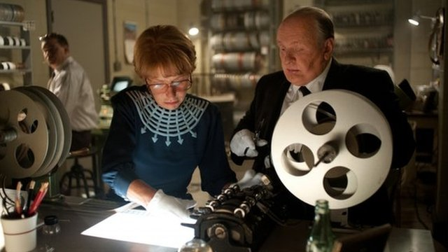 Helen Mirren and Sir Anthony Hopkins in Hitchcock