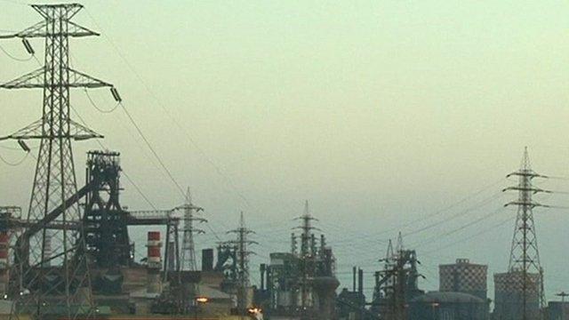 Taranto steel plant