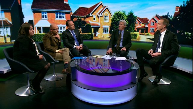 Newsnight housing discussion panel